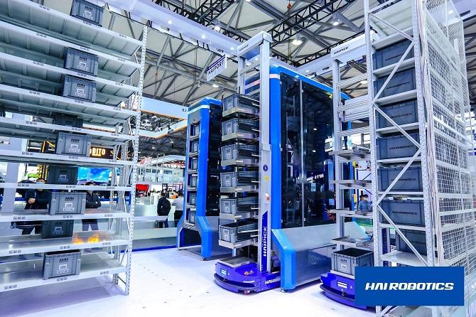 HAI ROBOTICS' New HAIPORT Debuts at CeMAT ASIA 2020