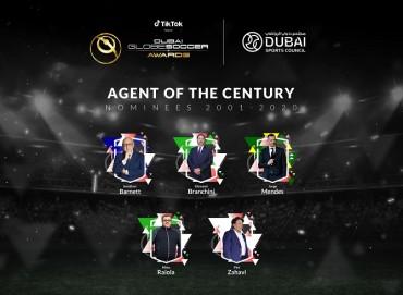 Dubai International Sports Conference and Dubai Globe Soccer Awards Celebrate Football's Biggest Stars Next Month