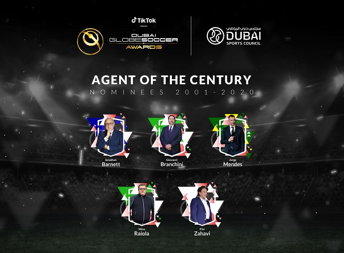 Dubai International Sports Conference and Dubai Globe Soccer Awards Celebrate Football's Biggest Stars Next Month