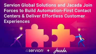 Servion Global Solutions and Jacada Join Forces to Build Automation-First Contact Centers & Deliver Effortless Customer Experiences