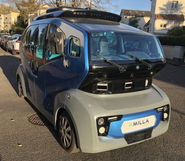 The MILLA Group Selects the Leddar Pixell from LeddarTech for the MILLA POD Autonomous Shuttle