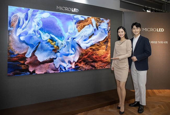 Samsung Unveils New 110-inch Micro LED TV