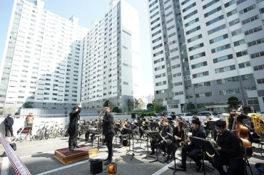 Incheon Holds Balcony Concerts for Residents
