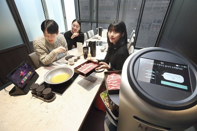 KT Kick-starts AI-based Digital Transformation Service for Restaurants