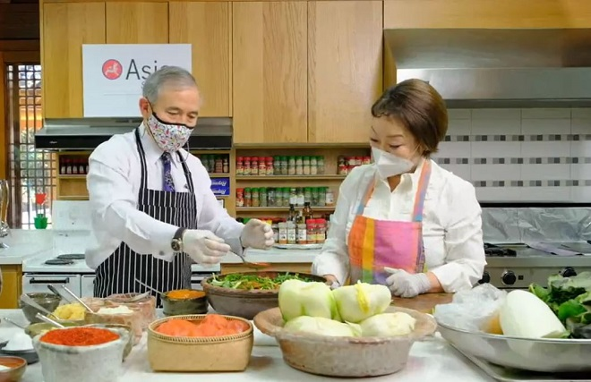 U.S. Amb. Harris Says, 'There's Nothing More Korean than Kimchi'