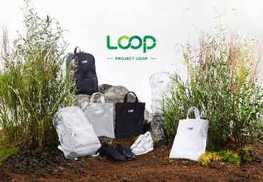 Plastic Bottles Used to Make Bags and Shoes at Lotte Chemical's Environmental Project