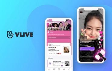 Naver's V Live Streaming Platform Logs 100 mln Global Downloads