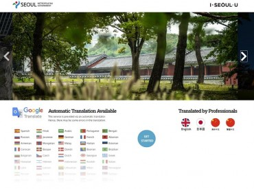 Seoul City Gov't Expands Foreign Language Service on its Website