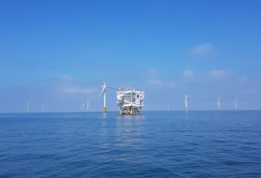 Doosan Heavy Teams Up with Local Gov't to Build Offshore Wind Farm