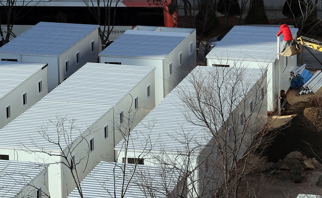 Seoul Converts Shipping Containers to Accommodate Growing Number of COVID-19 Patients