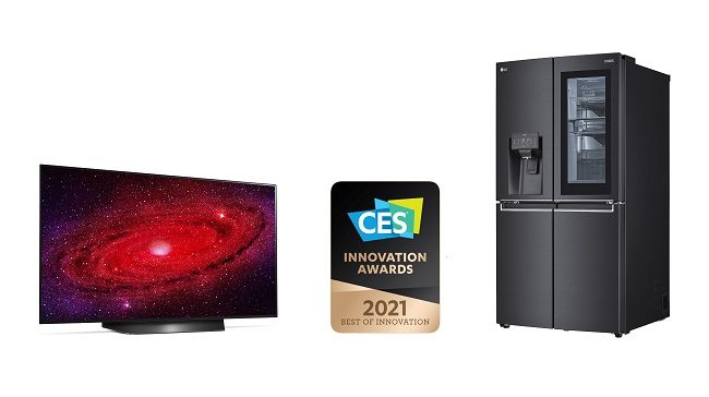 S. Korean Firms Sweep Innovation Awards at CES 2021