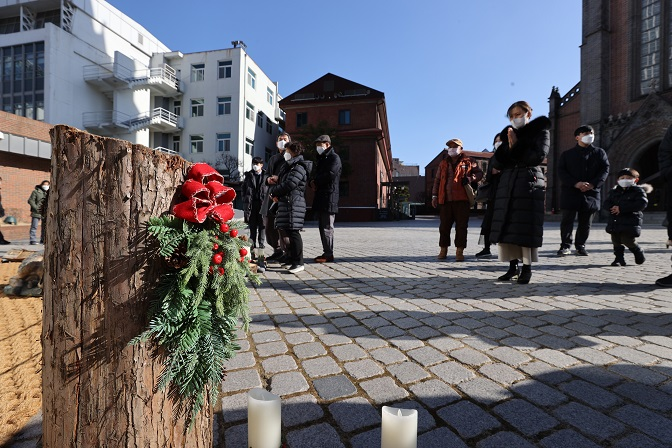 Churches Meet Online, Streets Deserted on 1st Christmas Since COVID-19 in S. Korea