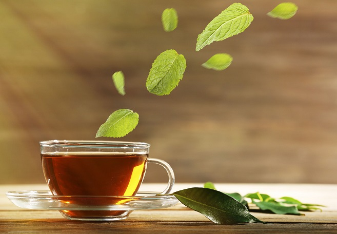 The study showed that some green tea components can contribute to greatly reducing bronchial cells' absorption of fine dust. (image: Korea Bizwire)