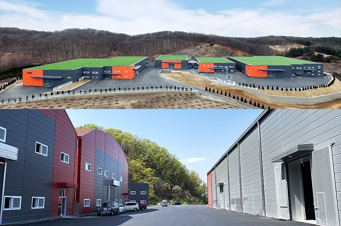 This photo, provided by Netflix Inc. on Jan. 6, 2021, shows its new filming studios in northern Gyeonggi, north of Seoul.