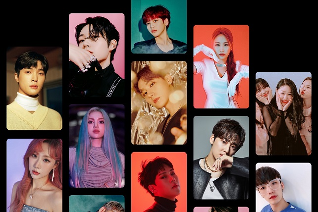 "This photo, provided by Airbnb, shows K-pop stars taking part in the company's ""Inside K-pop"" program."