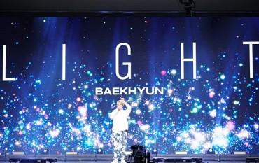 EXO Member Baekhyun's Online Concert Draws 110,000 Viewers