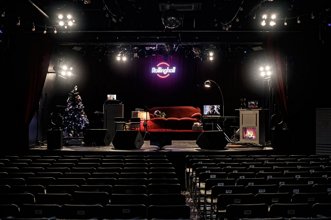 Rolling Hall, a performance venue in Hongdae, Seoul. (image: Rolling Hall)