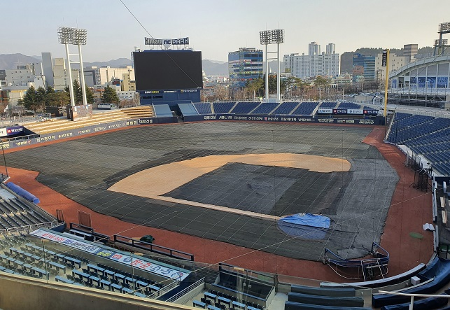 Tarps, Food, Heaters: How KBO Teams are Preparing for 'Spring' Training in Feb.