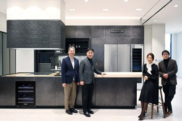 LG Electronics Opens Signature Kitchen Suite Showroom in Cheongdam-dong