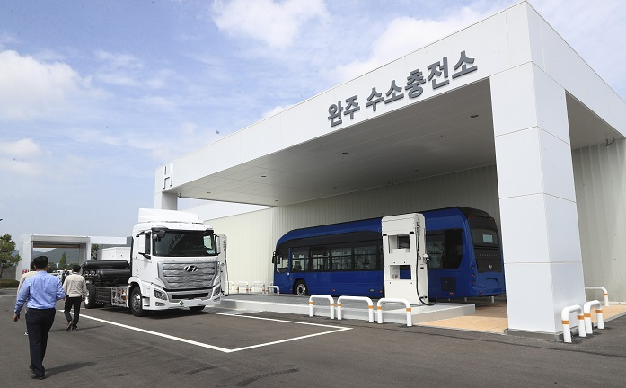 South Korea's Largest Hydrogen Station Gaining Popularity