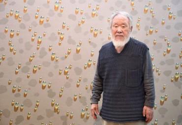'Water Drop' Artist Kim Tschang-yeul Dies at 91