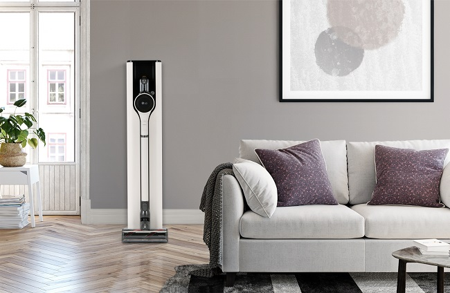 LG to Showcase New Vacuum Cleaner with Enhanced Charging Station at CES 2021
