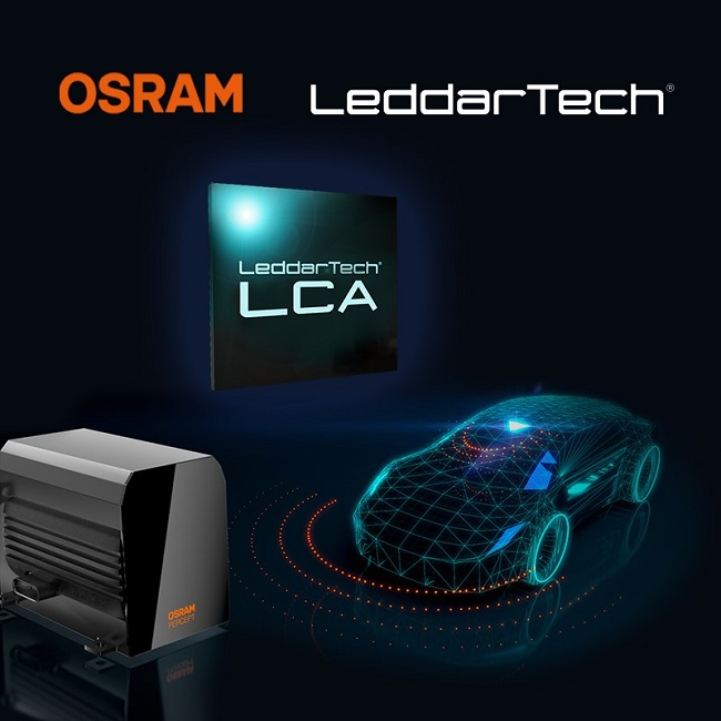 OSRAM Signs Supply and Commercial Agreement with LeddarTech for Automotive LiDAR and ADAS