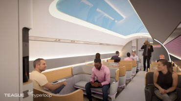 Virgin Hyperloop Unveils Passenger Experience Vision