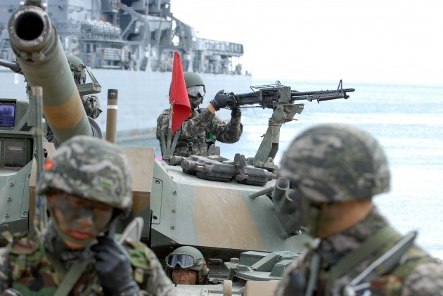 Fewer S. Korea-U.S. Combined Drills Staged in 2020 amid Pandemic