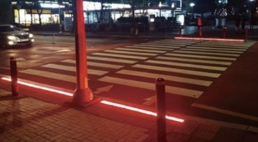 In-ground Traffic Lights Help Prevent Traffic Accidents for Children