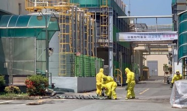 Chemical Accidents Surged Over 30 pct Last Year