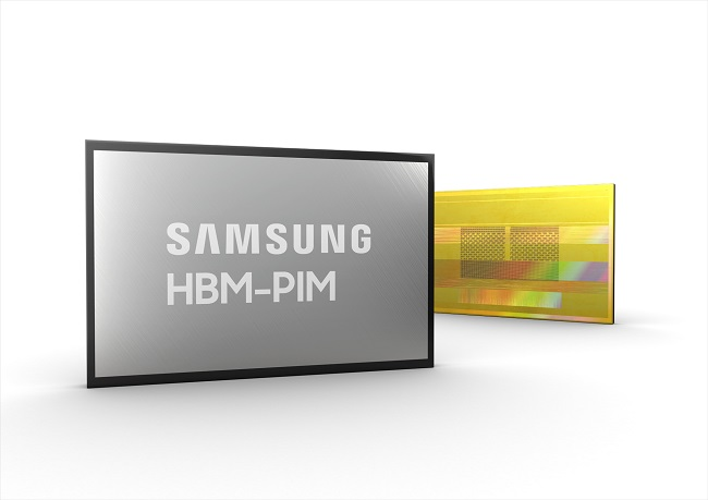 Samsung Develops AI Processor-embedded Memory Chip