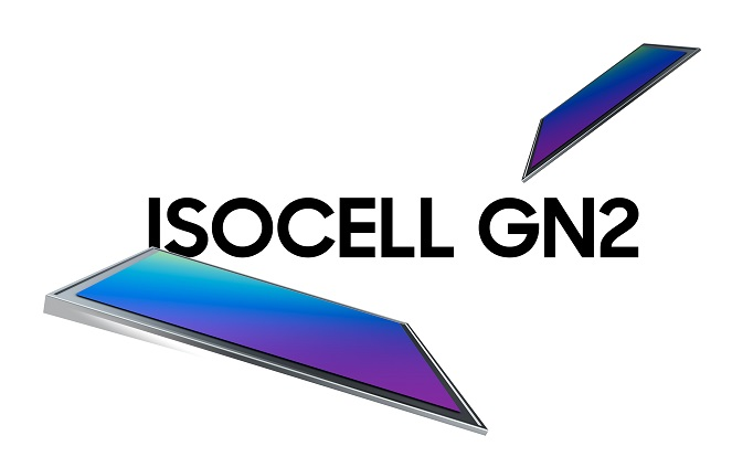 This image, provided by Samsung Electronics Co. on Feb. 23, 2021, shows the company's new image sensor, the ISOCELL GN2.