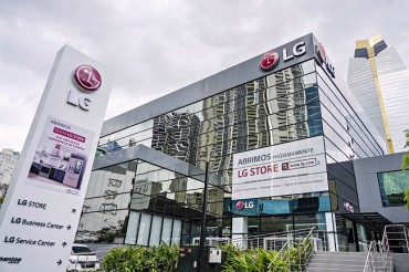 LG Electronics Opens 1st Premium Shop in Latin America