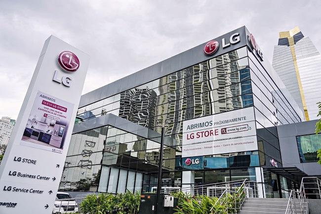 LG Electronics Opens 1st Premium Shop in Latin America