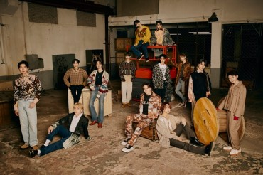 Boy Band Seventeen to Drop New Single in Japan in April