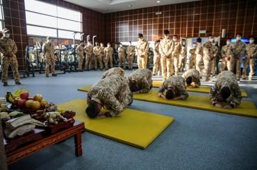 Overseas Service Members Celebrate Lunar New Year amid COVID-19