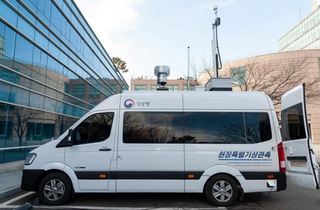 State Weather Agency Introduces Mobile Observation Vehicle for Disaster Areas