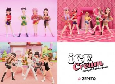 BLACKPINK's 'Ice Cream' Dance Video Reaches 100 mln Views