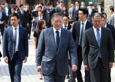 Hyundai Motor's Honorary Chairman to Relinquish All Directorship Positions at Affiliates
