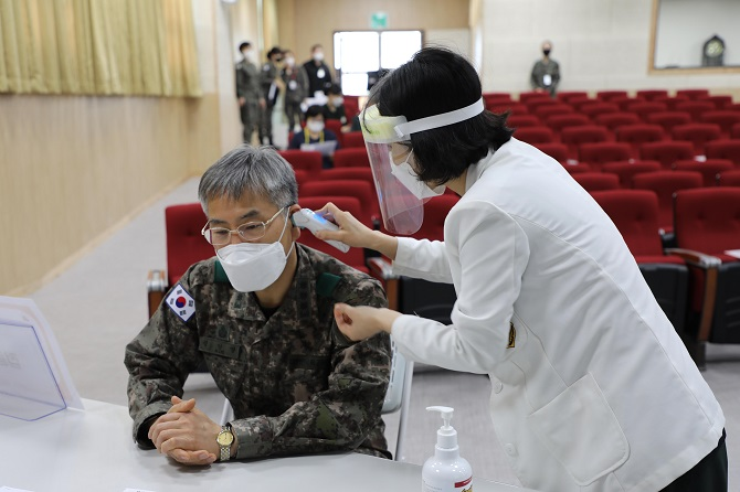 Military Personnel to Receive COVID-19 Vaccines Starting in June