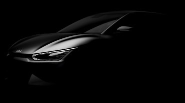 Kia Teases 1st EV Platform-based EV6