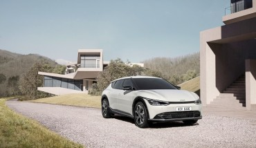 Kia Unveils Design of 1st EV Platform-based EV6