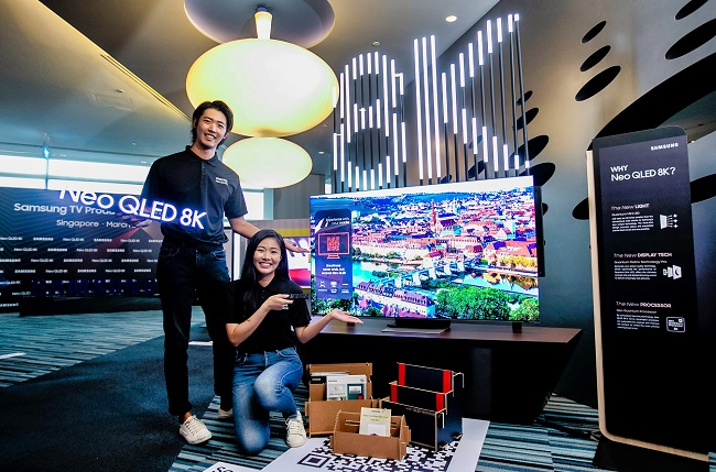 Samsung Rolls Out Micro LED TV in Southeast Asia