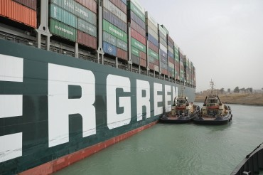 Korean Shippers, Shipbuilders Sailing Well amid Suez Blockage