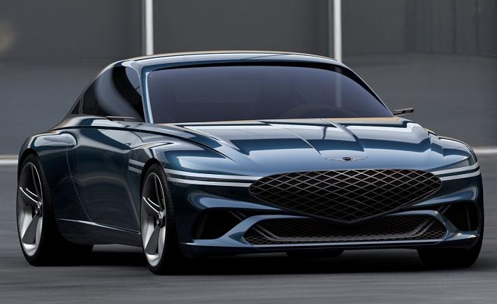 Genesis Showcases Luxury EV Concept Coupe