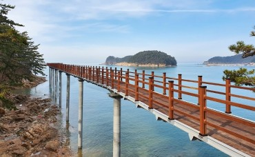 Taean County to Open New Walkway at Mallipo Beach