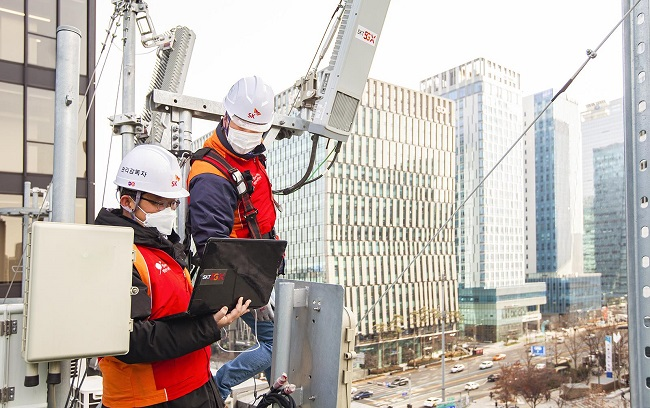 SK Telecom Reduces Greenhouse Gases by Reducing Power Consumption of Telecom Equipment