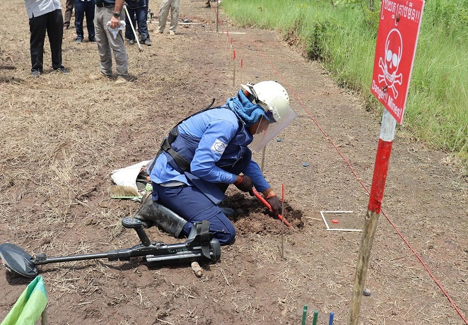 South Korea to Help Clear Landmines in Cambodia