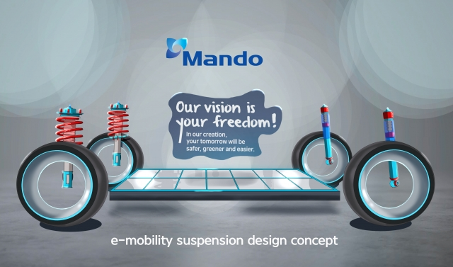 Mando Signs 1.4 tln Won Deal to Supply Suspension Systems to Volkswagen